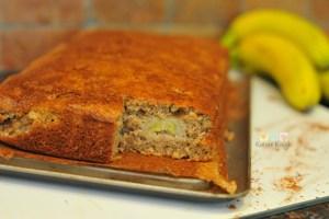 receita de bolo de banana facil de fazer