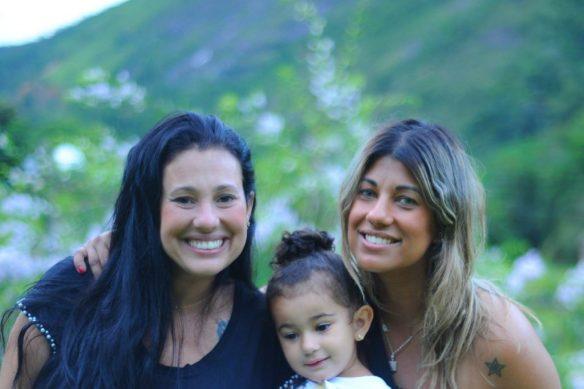 encontrando a irma e a sobrinha