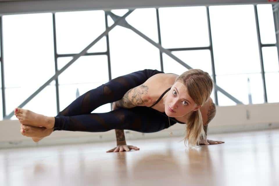 Yogalehrerin Jelena Lieberberg im Interview
