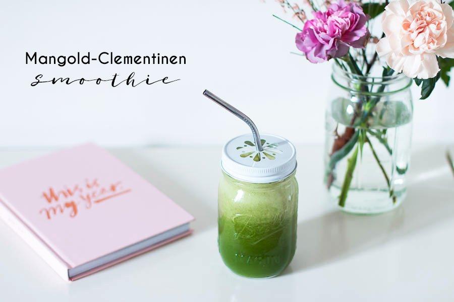 Mangold Clementinen Smoothie