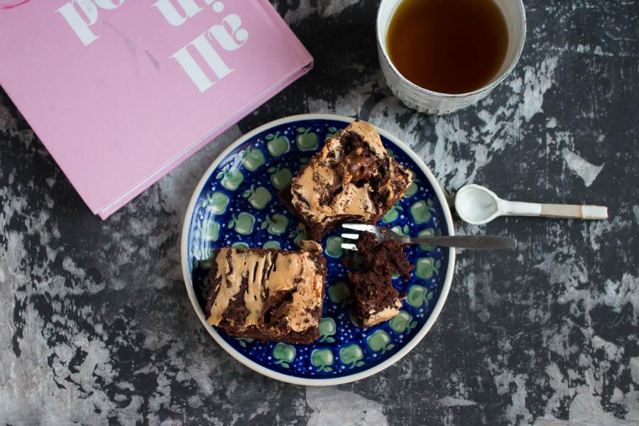 Schokoladen-Mandel Brownies
