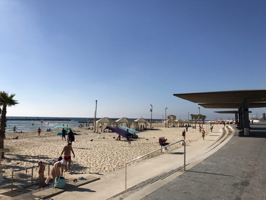 Tel Aviv Strand Gordon Beach