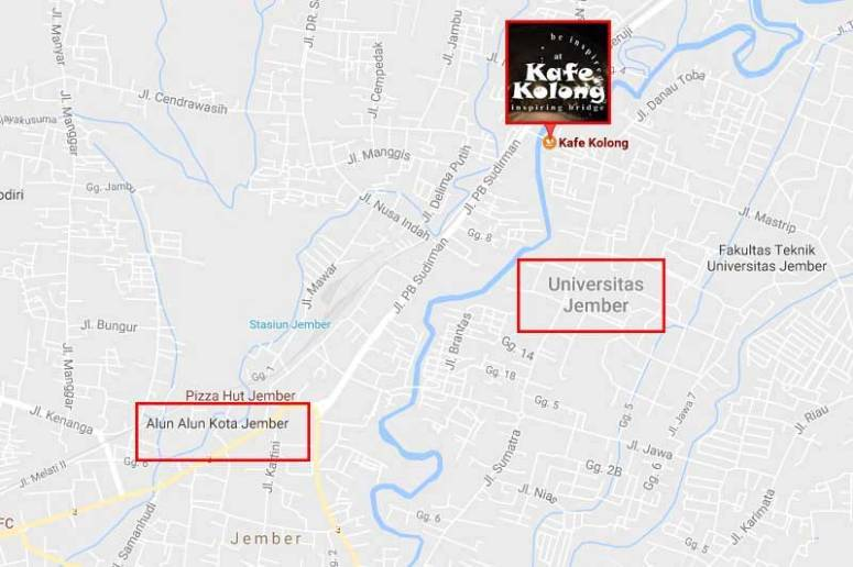 map kafe kolong