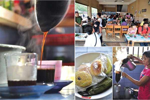 kopi Atet khas Belitung