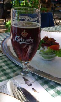 Øl og hønsesalat - Søpromenaden © Kaffebloggen.dk
