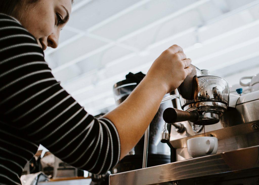 gescheiterte Espressozubereitung
