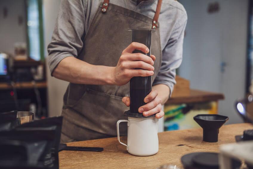 kaffeezubereitung aeropress