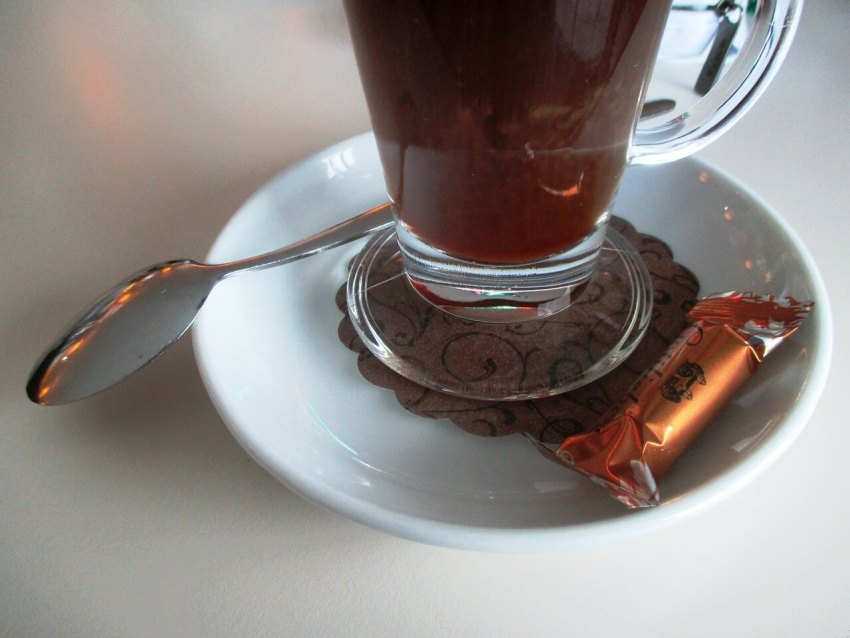 kaffeeglas mit henkel