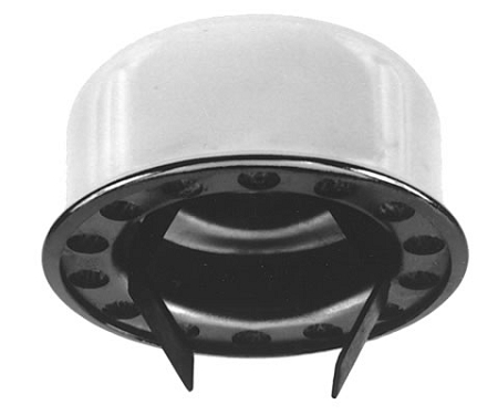 Beco61a Push In Type Breather Cap Chrome
