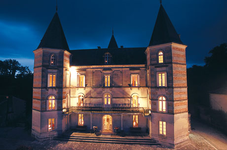 Frapin Castle. Source: Frapin website.