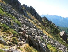 Corsica. Photo by: Rolling Thunder. Source: Trailjournals.com (Direct website link embedded within.)