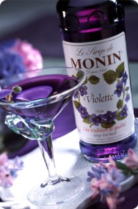 Monin violet syrup. Source: us.monin.com
