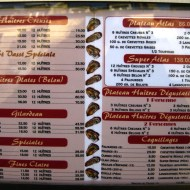 The wide range of oyster types, options, and prices.