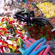 Sweets in a street stall.