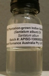 My bottle of the Australian plantation oil. Photo: my own.