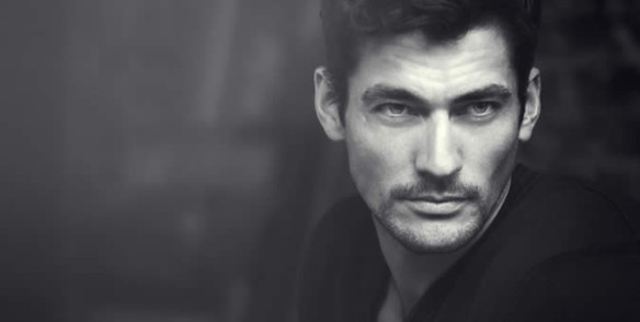 Model David Gandy via fashionbeans.com