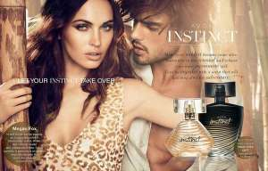 Megan Fox ad for Avons Instinct. Source: trendhunter.com