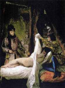 """Louis d'Orléans Showing his Mistress"" by Eugène Delacroix. Source: Wikipedia"