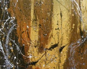 """""""Metals in Motion"""" art by Kimberly Conrad. Source: Kimberly Conrad Daily Paintings. (Website link embedded within.)"""