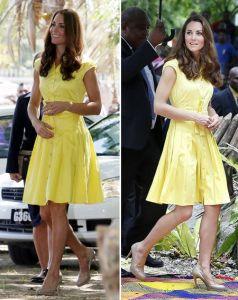 Kate, Duchess of Cambridge. Source: ok.co.uk