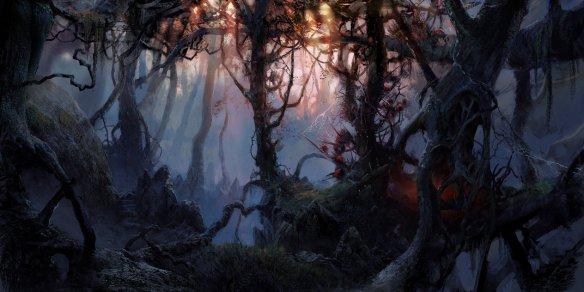 """Photo: """"Dark forest"""" by VityaR83 on deviantART http://vityar83.deviantart.com/art/dark-forest-299891639"""