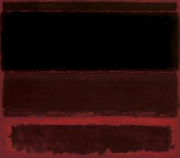 "Mark Rothko, ""Four Darks in Red,"" 1958, via the Whitney museum website."