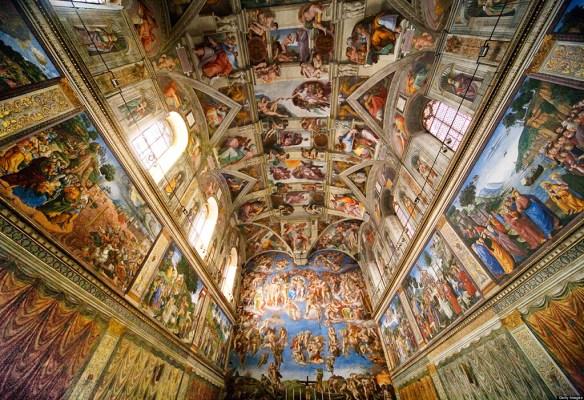 Sistine Chapel. Photo: lcc-aftravel.com