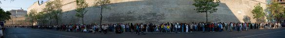 vatican museum queue line in 2007
