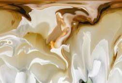 """Photo: Bruno Paolo Benedetti, """"White Floating Shapes,"""" via Saatchi Art. (Direct website link embedded within.)"""