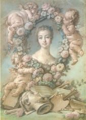 Madame de Pompadour by François Boucher via Pinterest.