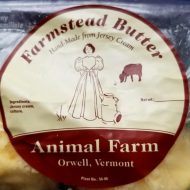 The Animal Farm label. Photo: my own.