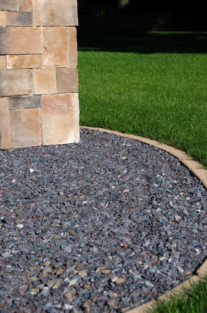 Dark Brown Landscape Gravel