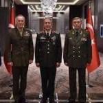 Türk Rus ve ABD Genelkurmay Başkanları İransız Suriye için anlaştı!