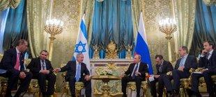 AB, İsrail ve Rusya kartı