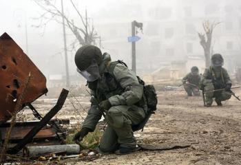 «Фугасная война»: российские войска несут потери в Сирии