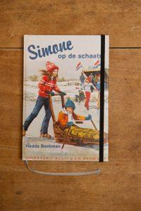Notebook Simone op de schaats