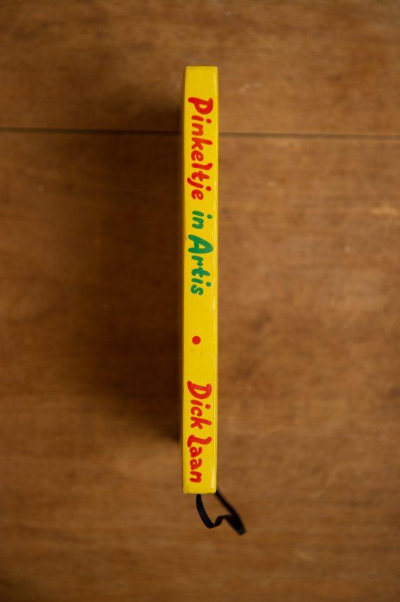 Notitieboek van het kinderboek Pinkeltje in Artis | gemaakt door Kaftwerk.com