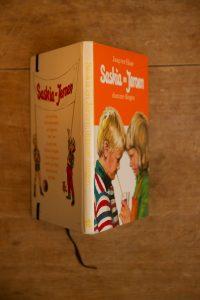 Notitieboek van het boek Saskia en Jeroen, domme dingen   gemaakt door Kaftwerk.com