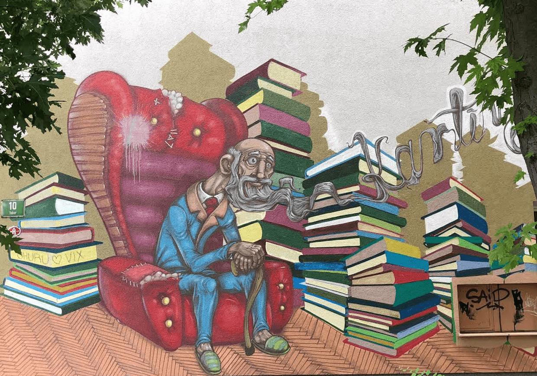 Boeken doneren aan Kaftwerk