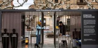 Des activistes s'enferment dans des cellules pour contester l'emprisonnement des leaders et militants catalans