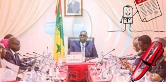 Communiqué du Conseil des Ministres du mercredi 31 janvier 2018