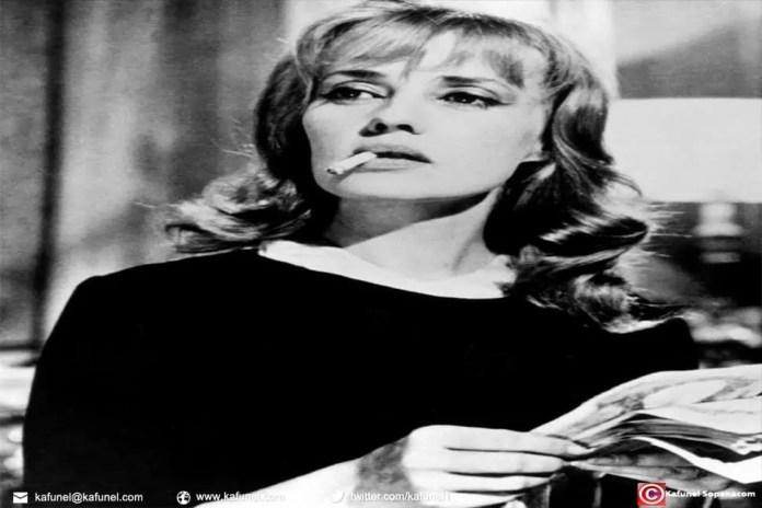 Jeanne Moreau l 'immense comédienne n'est plus.