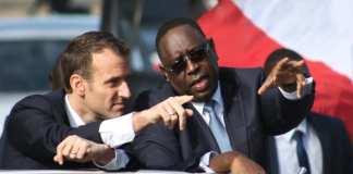 Macron et Macky à Saint-Louis 15