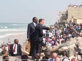 Macron et Macky à Saint-Louis 40