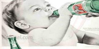 Veille pub bizarre de 7up, utilisant le côté mignon des bébés.