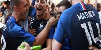 Les ventes de maillot ont augmenté de 30 % par rapport à la même période à l'Euro-2016.@ AFP