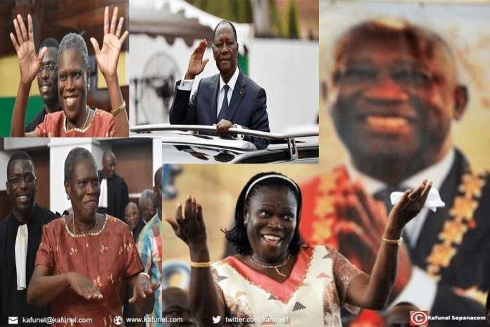 La signification de l'amnistie présidentielle de Simone Gbagbo et de Moïse Lida Kouassi et d'autres en Côte d'Ivoire ce jour du 07-Août 2018. 2