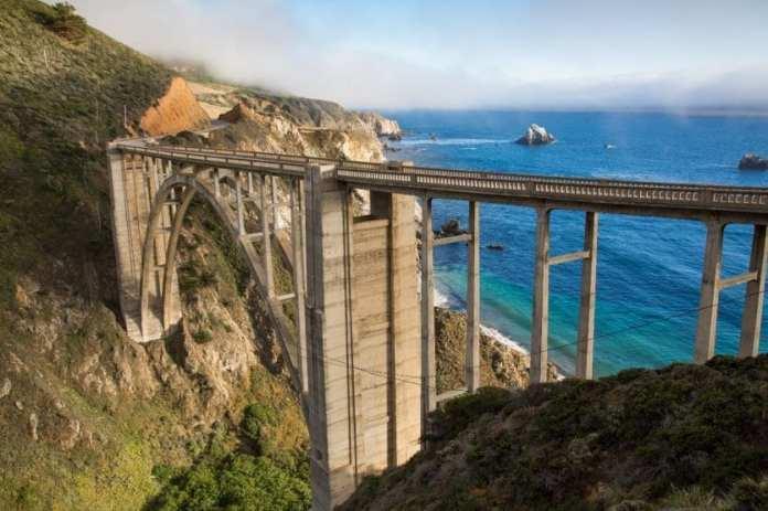 4. HIGHWAY 1 (CALIFORNIE) - La Pacific Coast Highway c'est le rêve américain de bout en bout