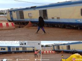 Déraillement du train Dakar-Thiès au milieu du passage à niveau_A la Une