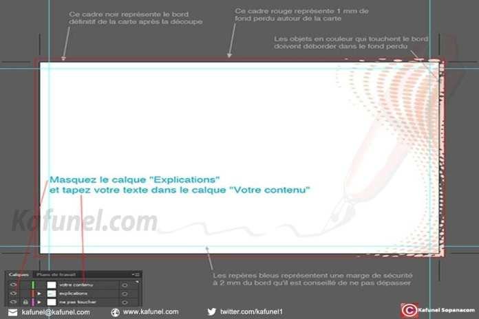 Tutoriel - Carte de visite Illustrator : Voici comment réaliser une carte de visite avec Adobe Illustrator 3